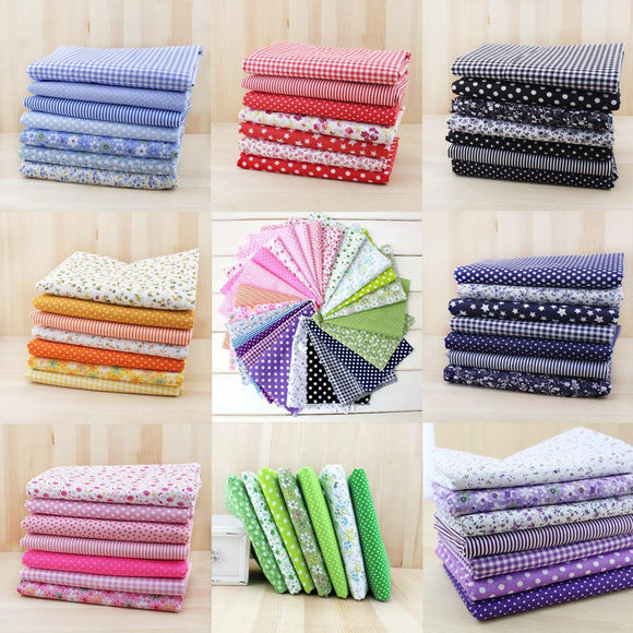 Cotton Fabric Quilter's Fat Fiths