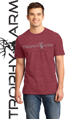 Men's Heathered Red Tee