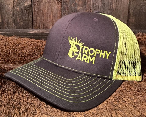 Charcoal/Neon Yellow Hat