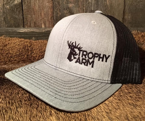 Heather Grey/Black Hat