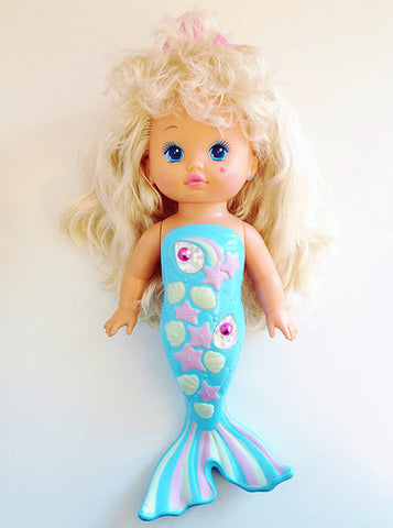 Li'l Miss Mermaid 80s 90s Doll Toy Merpola