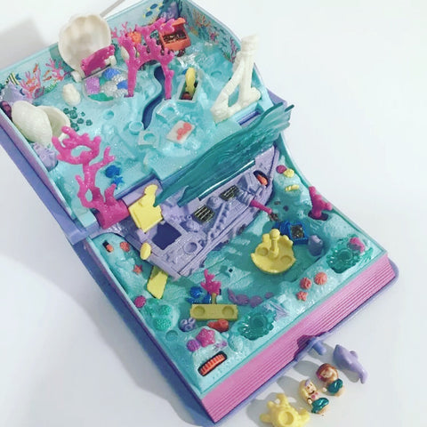 Polly Pocket Mermaid toy Merpola