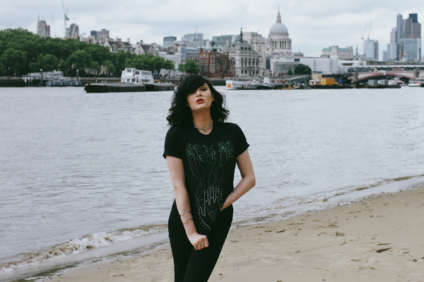 Merpola Kelp Me Tee London Themes River Skyline