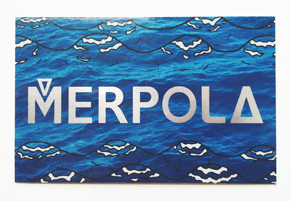 Merpola Business Card Front
