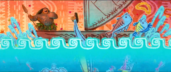 Disney Moana Flounder Little Mermaid Easter Egg Merpola