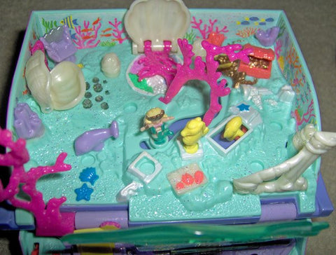 Polly Pocket mermaid Merpola