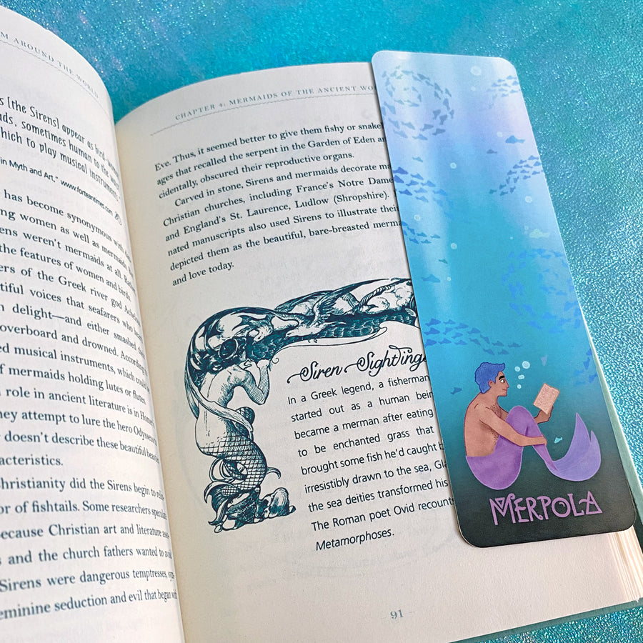 Deep Sea Bookmark - Double Sided