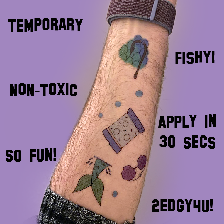 Temporary Tattoos!