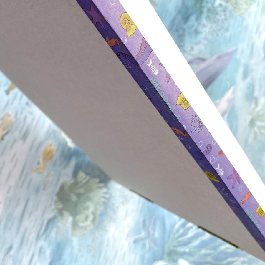 Washi Decoration Sticky Tape - 'Purple Octopus Tentacle'