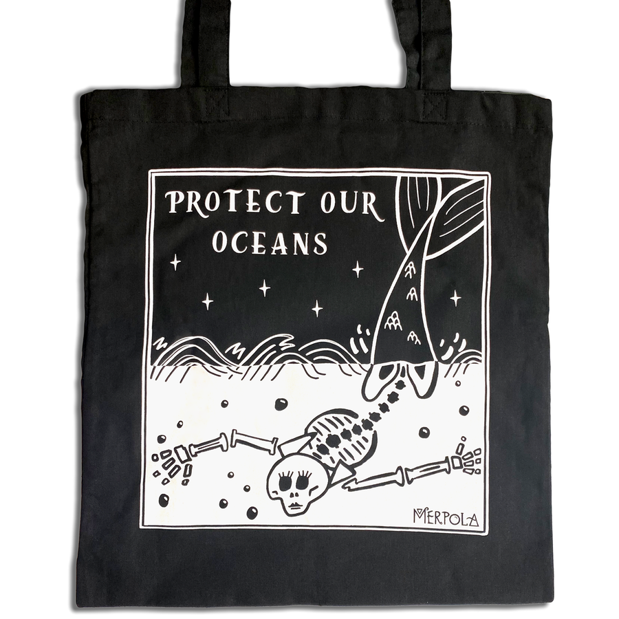 Protect Our Oceans Tote Bag