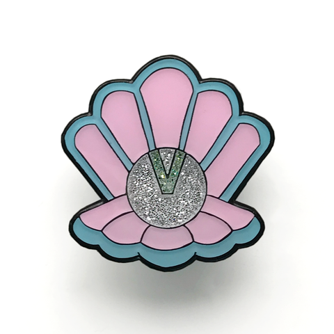 Clamshell Clan - Limited Edition Enamel Shell Pin