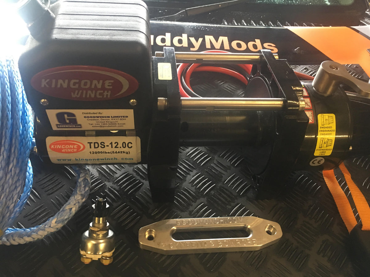 A Goldfish Short Drum TDS-12.0 or TDS-9.5 Winch Package
