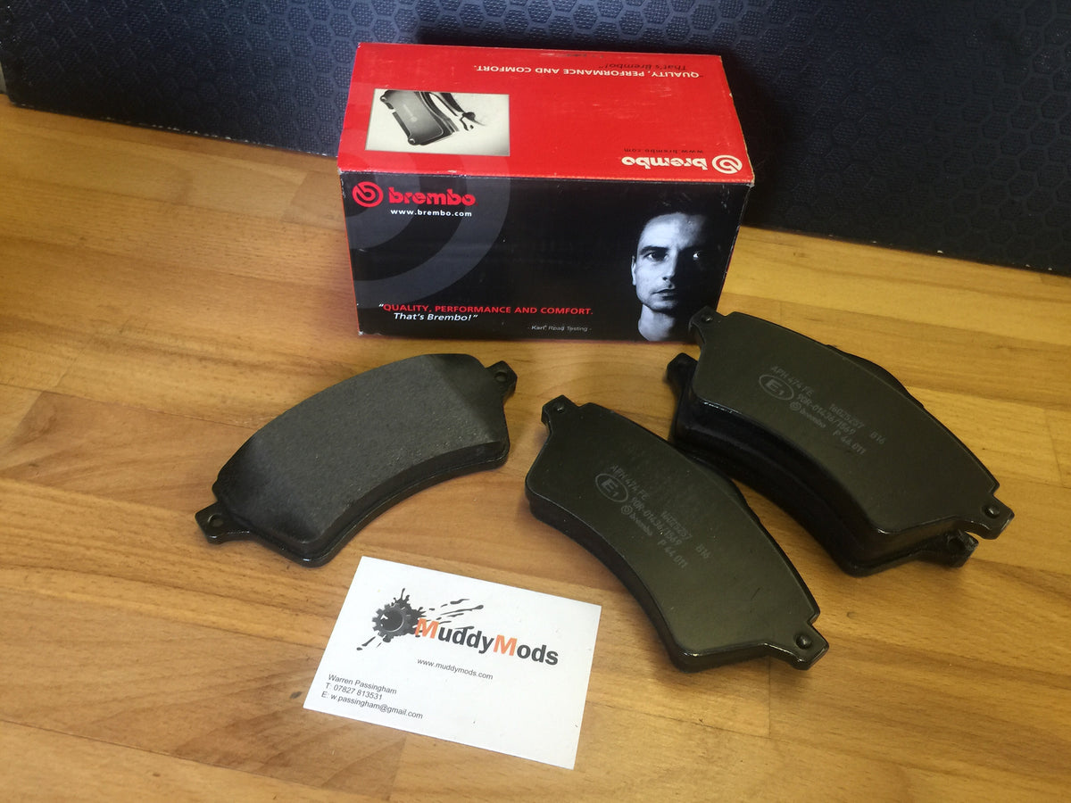 Freelander 1. Brembo Brake Pads for Solid Discs.