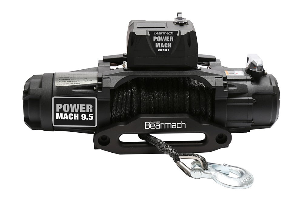 Power Mach 9500lb 12v TWO Speed Winch