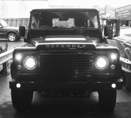 Defender Standard Bumper Single Round DRLs
