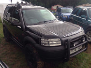 Land Rover Freelander 1 Bonnet Protection Chequer Plate Panels (Outer Panels ONLY)