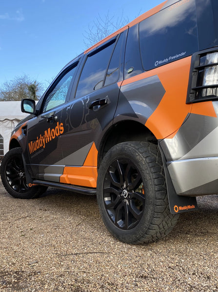 Freelander 2 Rally Style Mud Flaps