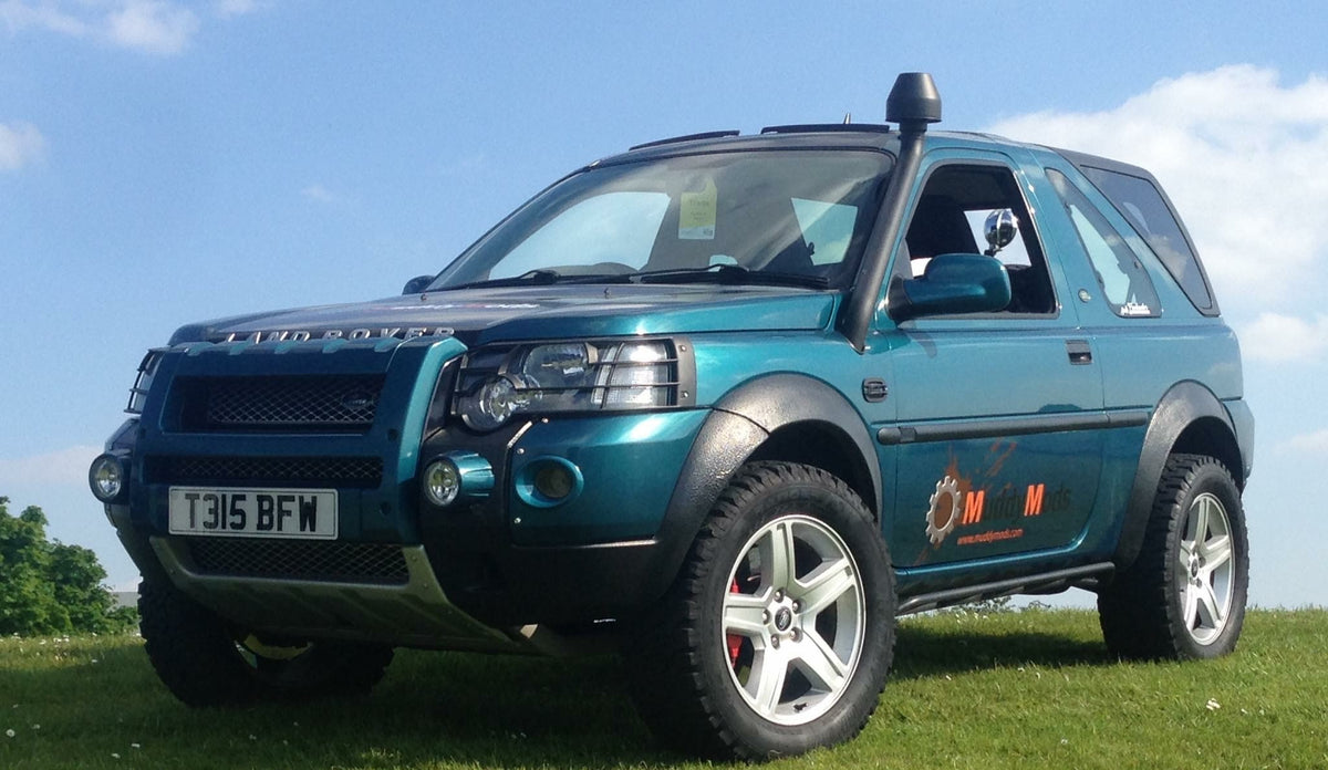 Freelander 1 Sill Guards / Rock Sliders