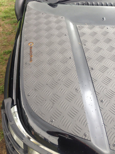 Land Rover Freelander 1 Bonnet Protection Chequer Plate Panels (FULL SET)