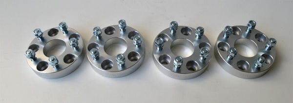 Freelander 2. Non hub centric 30mm Wheel Spacer Kit. Set of FOUR. 108mm x 5 pcd