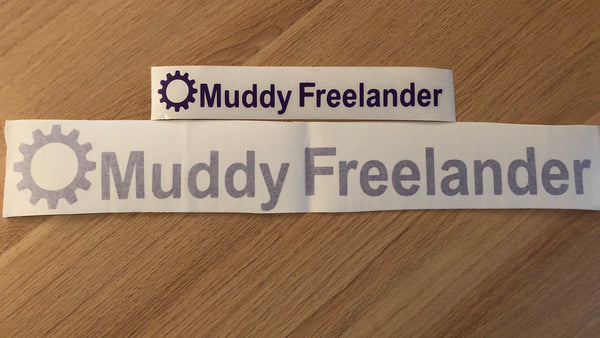Muddy Freelander Sticker - PURPLE