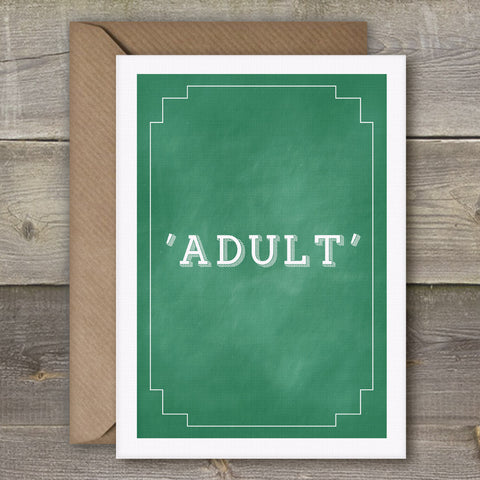 Adult - SimpleThingsCards