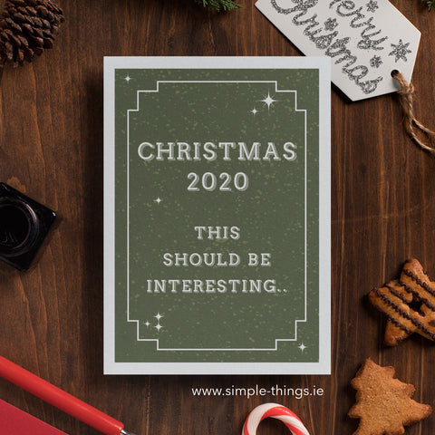 funny irish artisan christmas cards 2020