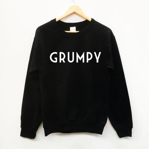 Grumpy, fun dad gift slogan sweatshirt - SimpleThingsCards