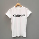 Grumpy, Funny fathers Slogan T-Shirt - SimpleThingsCards