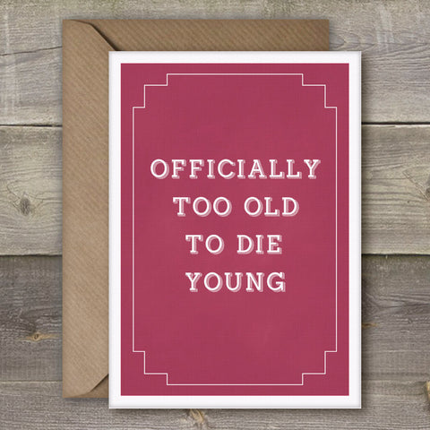 Funny Irish Made Greeting Cards by Simple things 2019