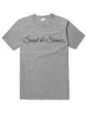Saint and Sinner, Funny Unisex Slogan T-Shirt - SimpleThingsCards