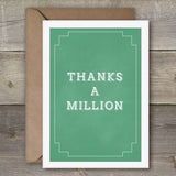 Thanks a Million - SimpleThingsCards
