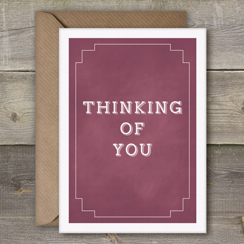 Thinking of You - SimpleThingsCards