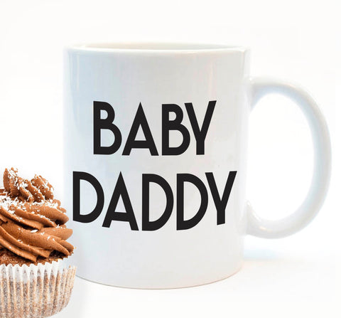 Baby Daddy funny gift mug - SimpleThingsCards
