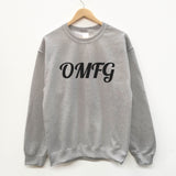 OMFG  fun slogan sweatshirt - SimpleThingsCards