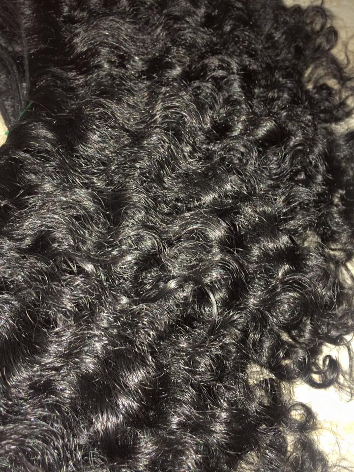 Raw Indian Curly Hair | Raw Curly Hair | Natural Curly Weft | Jaipur Hair