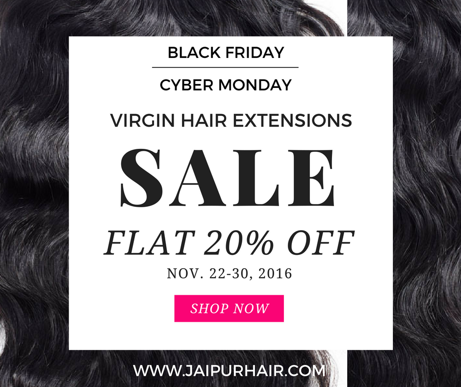 Black Friday Sale 2016 Hair Extensions