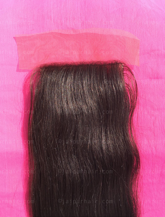 Raw Indian Wavy Lace Closure - Raw Indian Hair, Virgin Hair Extensions, Jaipur Hair