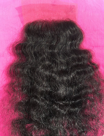 Raw Indian Curly Lace Closure - Raw Indian Hair, Virgin Hair Extensions, Jaipur Hair