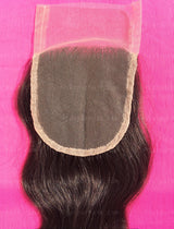 Raw Indian Wavy Lace Closure
