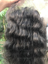 Raw Indian Wavy Full Lace Wig