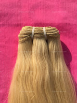 Blazing Blonde Indian Straight Bundle - Raw Indian Hair, Virgin Hair Extensions, Jaipur Hair