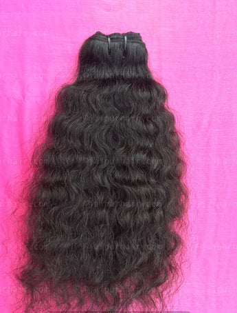 Maharani Raw Indian Curly Bundle - Raw Indian Hair, Virgin Hair Extensions, Jaipur Hair