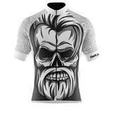 Dark Jungle White Cycling Jersey