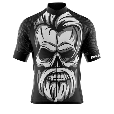 Dark Jungle Black Cycling Jersey