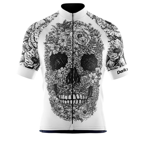Cycling Jersey Dark Nature White