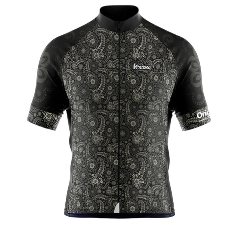 Cycling Jersey Oringins BLACK/GREY
