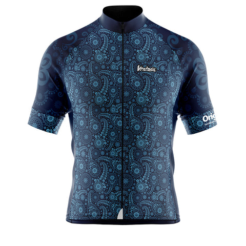 Cycling Jersey Oringins MARINE/SKY