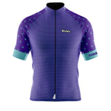 Pride & Honor PURPLE/AQUA Cycling Jersey