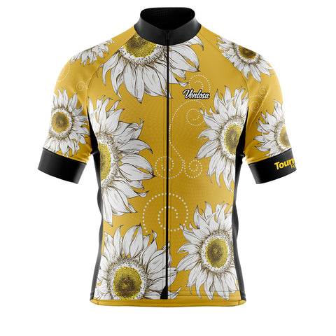 Cycling Jersey Tournesol Yellow